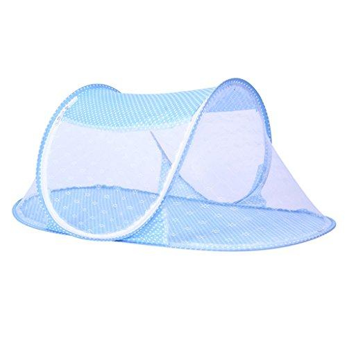 Preisvergleich Produktbild Baoblaze 0-3 Jahre Baby Bett Falten Baby Krippe Babyzelt Faltbett Reisebett mit Moskitonetz Kleinkind Reise Bett