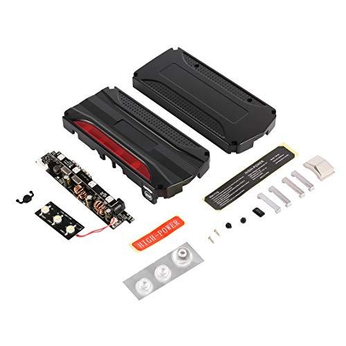 Gwendoll 4 Ports de Charge USB Coffret Banque de téléphone Portable avec capacité Ultra-légère de Grande capacité avec boîtier de sécurité pour Marteau de sécurité