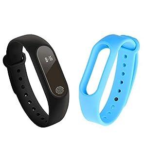 GerTong Fitness Pulsera de seguimiento de actividad con monitor cardíaco, banda inteligente M2, resistente al agua… 3