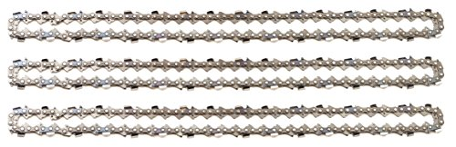 """3 tallox cadenas de sierra .325"""" 1,3 mm 64 eslabones 38 cm full-chisel compatible con DOLMAR HUSQVARNA"""