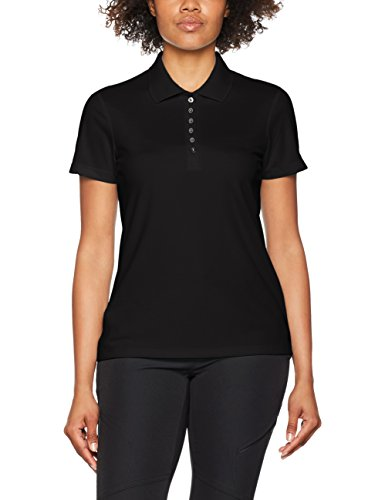 CMP Damen Poloshirt, schwarz (nero), Gr. 44
