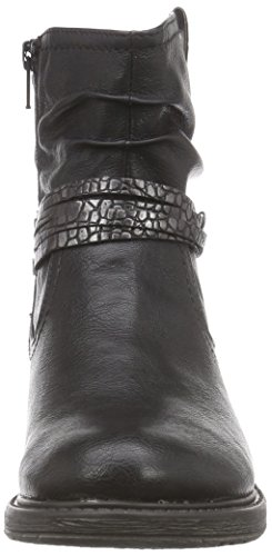 Softline25464 - Biker imbottiti a gamba corta Donna Nero (Schwarz (schwarz (BLACK 001 )))
