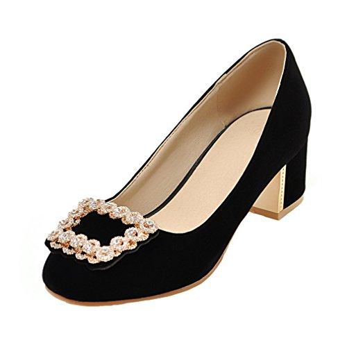 ENMAYER Femmes Bracelet en Casual uir Verni Stiletto Talons Hauts Pointe Toe Pumps Chaussures de Bureau Blanc#41