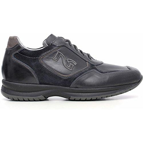 Nero Giardini , Chaussures de ville à lacets pour homme Musk Blu