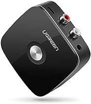 مستقبل بلوتوث 4.1 من يوجرين، محول ار سي ايه للصوت اللاسلكي للموسيقى في المنزل والسيارة مع 3.5 ملم و2 ار سي ايه