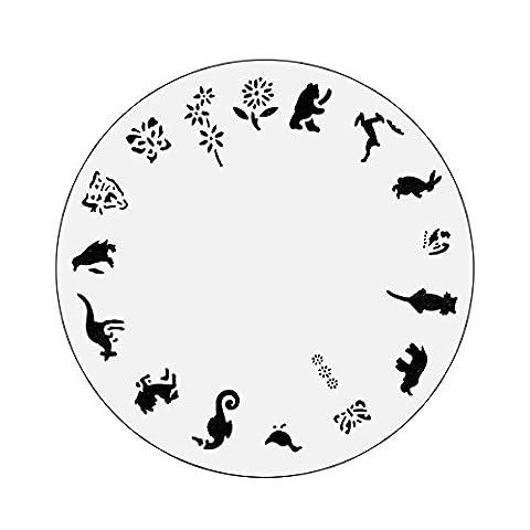 Nail Master Design Rad: Zoo-Leben
