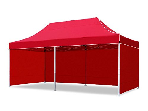 Gazebo Tent 10 x 20 feet / 3 x 6 meter with Side Covers - Portable Canopy Tent