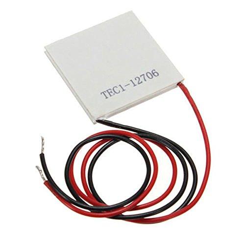 TEC1-12706 Kuehlkoerper Thermoelektrische Kuehlbox kuehlen Plattenmodul 12V 6A 72W (1PC)