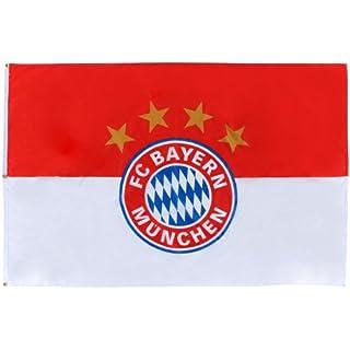 FC Bayern München Hissflagge Logo 180x120cm