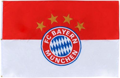 FC Bayern Hissfahne Logo