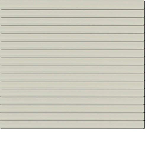 Dekologi Aluminium Jalousie 110 x 80 cm (Breite x Höhe) - Lamellenfarbe 1706 seidengrau//Maßanfertigung Alu Jalousien Jalousette Rollo Plissee