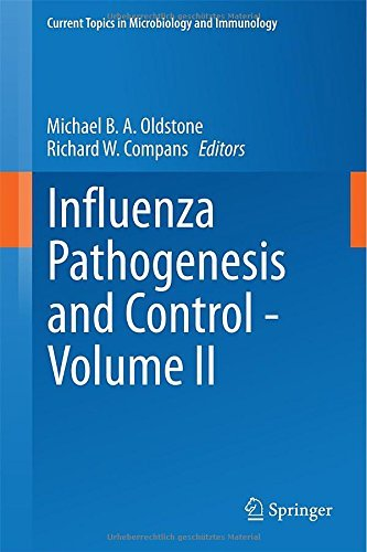 Influenza Pathogenesis and Control - Volume II: 2 (Current Topics in Microbiology and Immunology) by Michael B. A. Oldstone (Editor), Richard W. Compans (Editor) (30-Nov-2014) Hardcover
