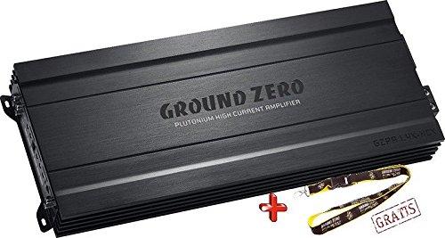 Ground Zero GZPA 1.4K-HCX Monoblock Verstärker Endstufe 4000 Watt RMS (Audio-verstärker 4000 Watt)