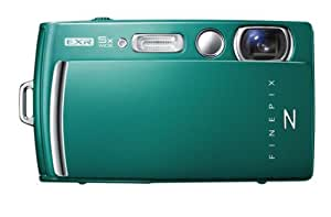 Fujifilm FinePix Z1000EXR Digitalkamera (16 Megapixel, 5-fach opt. Zoom, 8,9 cm (3,5 Zoll) Display, bildstabilisiert) grün