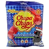 Chupa Chups Mini Cola & Strawberry Flavour Lollipops 10 Pcs Packet, 100g