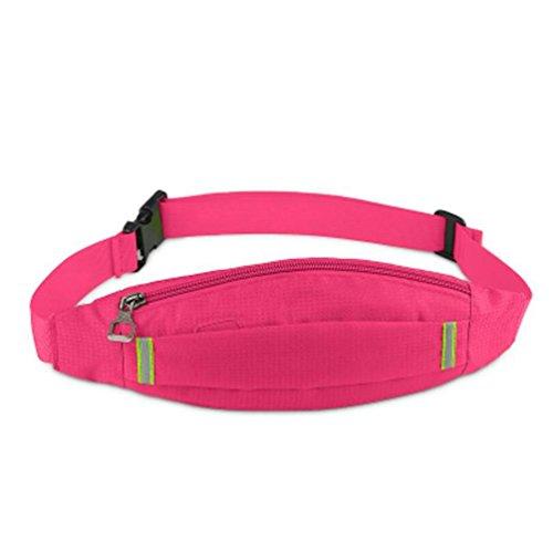 OOFWY Fanny Pack Sport Läufer Taille Pack mit 2 Taschen Bum Tasche für Männer und Frauen 14