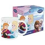 Disney Frozen Anna und Elsa Tasse mit Henkel aus Keramik / Porzellan