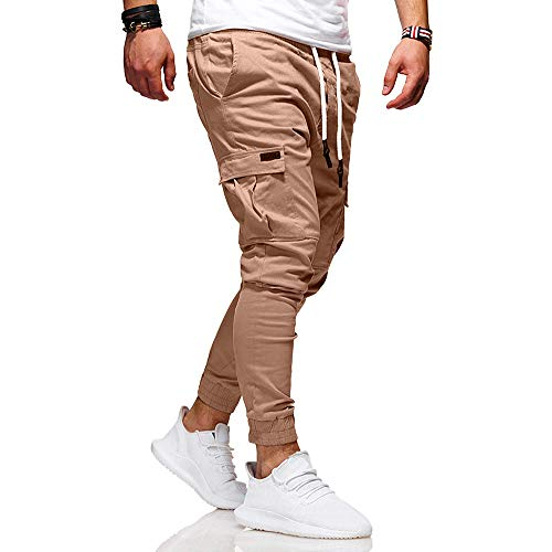 8b07e01a33dec PRINCER Men Large Size Slim Fit Denim Pants Male Leisure Sports Stitching  Stretchy Casual Trousers Sport