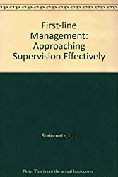 First-line Management: Approaching Supervision Effectively