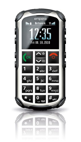 Emporia V33i_001_W Solid Plus Outdoor-Handy (4,6 cm (1,8 Zoll), OLED Display, Bluetooth, Dualband-GSM) weiß