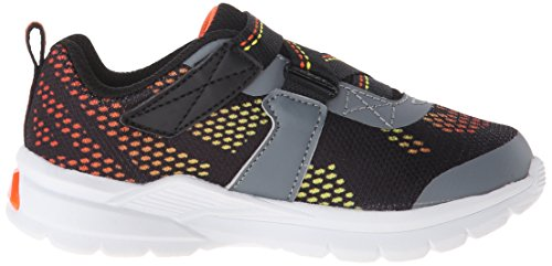 S Lights By Skechers Erupters II Lava Arc Synthétique Baskets Blk-Char-Orng