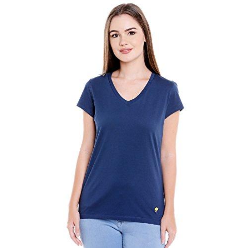 SUPIMA WOMENS T-SHIRT INSIGNIA BLUE (Large)