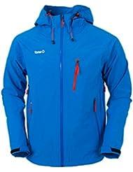 Izas Karako - Chaqueta para hombre, color azul royal / naranja, talla L