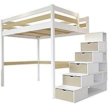 Kinderhochbett treppe  Suchergebnis auf Amazon.de für: hochbett treppe