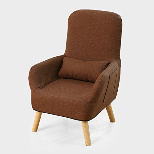 Chaise simple d'allaitement de chaise chaise longue de dossier de tabouret de alimentation tabouret 95cm de hauteur (Couleur : Café couleur)