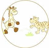 """Roba – Spiel- und Krabbeldecke """"Safari"""" 100 x 100 cm - 2"""