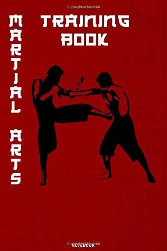 Martial Arts Training Book Noteb...