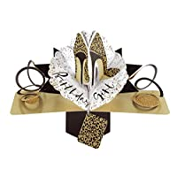 Second Nature Birthday Pop Up Card with Leopard Print Shoes
