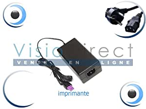 Adaptateur Alimentation Chargeur pour Imprimante HP COMPAQ Deskjet F4280 Visiodirect