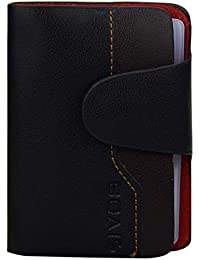 AVMART 26 Cards Lots Leather Black Color Credit/Debit / ID Card/Visiting Card Holder & Gift Set