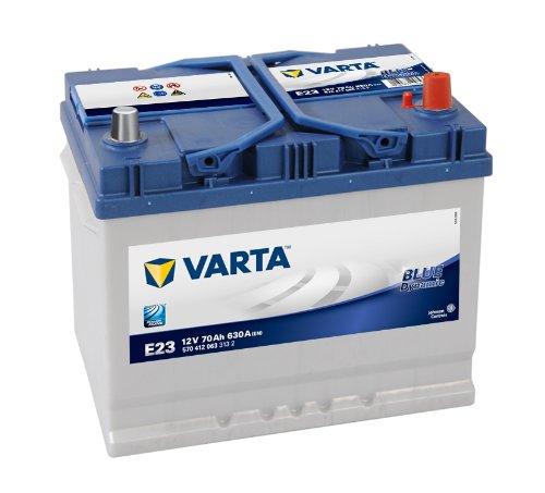 Varta E23 570 412 063 - Batteria per auto, 70 Ah