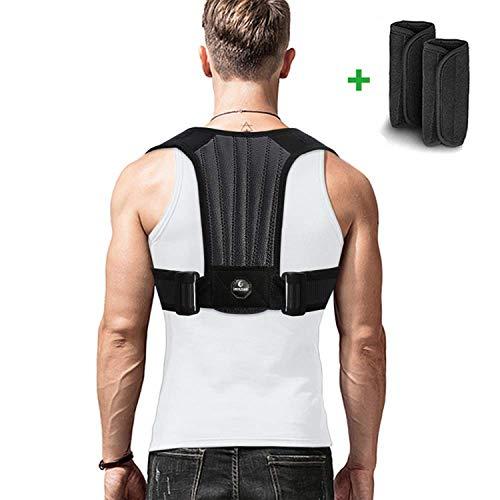 imrusan Geradehalter zur Haltungskorrektur Rückenstütze, Gerade Rücken Rückenbandage Verstellbare, Posture Corrector Haltung Verbessern, Korrektur Schulter Rücken Haltung für Herren und Damen
