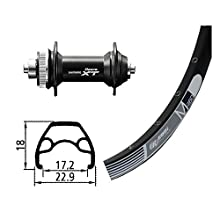 Bike-Parts V-RAD 9Deore Ride Bike, Silver, Size