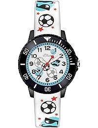 s.Oliver Time Jungen-Armbanduhr SO-3408-PQ