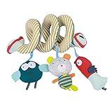 Toyvian Kinderwagenspielzeug Eule Bär Vogel Anhänger Mobile Kette Krippe Bett Auto Sitz Hänge Spielzeug für Baby