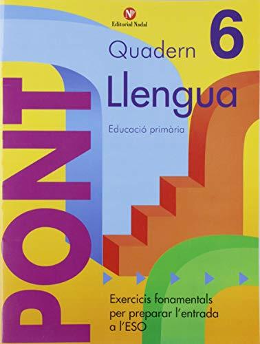 Pont. Quadern De Llengua 6 (Pont (canvi De Curs))