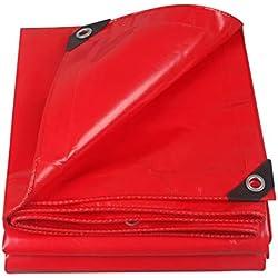 des Bâches Parapluie Belvédère Couteau PVC Haute Résistance Raclant L'isolation Extérieure Étanche À La Pluie Et À La Chaleur De La Piscine Extérieure LIUDINGDING (Color : Red, Size : 3 * 3)