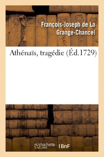 Athénaïs, tragédie