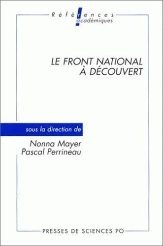 Le Front national à découvert, 2e édition