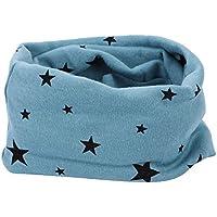 Unisexe Echarpe Étoile Impression Enfant Tour de Cou en Coton Doux Foulard  Multi-usage Cache 88172c685b0