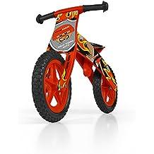 Milly Mally 1506 - Holzlaufrad 12-Zoll-Räder, rot