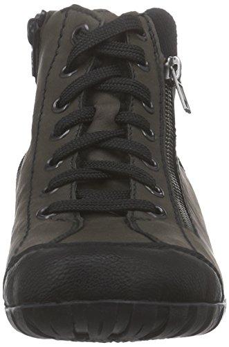 Rieker L4641 Damen Hohe Sneakers Grün (schwarz/schlamm/schwarz / 00)