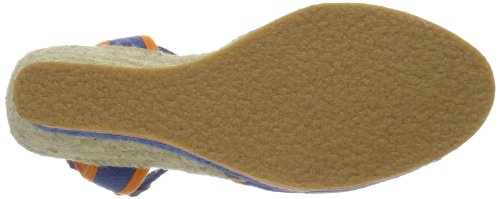 Kickers Oelia, Mules femme Bleu - Blau (BLUE ORANGE 53)