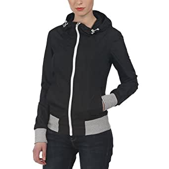 Bench Damen Jacke Jacke Coached C schwarz (Jet Black) Large