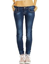Bestyledberlin pantalon en jean femme, jean slim fit j63f