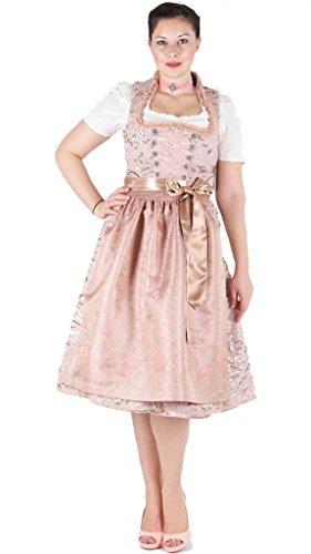 15529 Tramontana 70er Dirndl rosa Pailletten